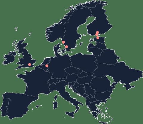 Ogoship warehouse locations Europe