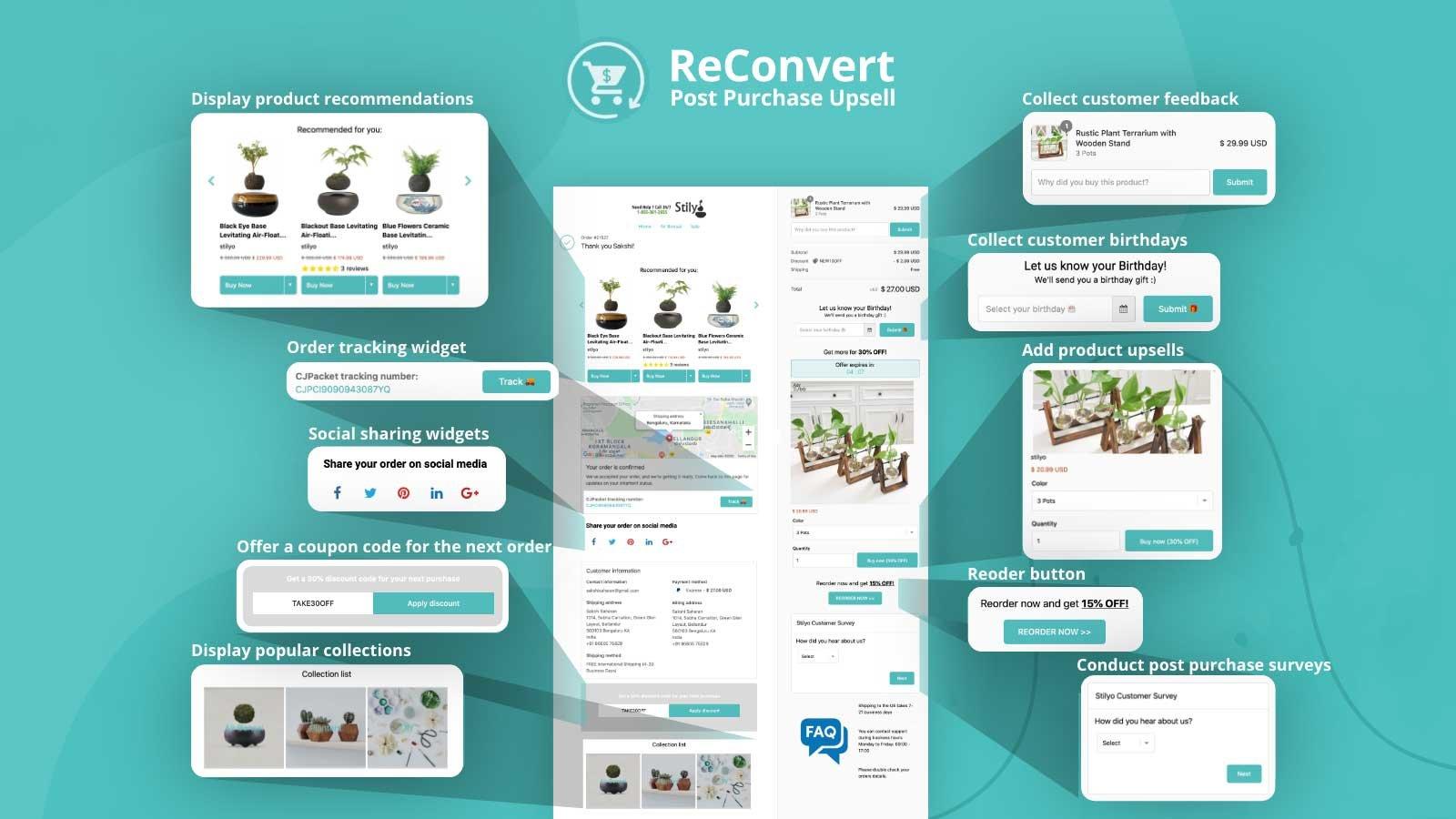 ReConvert Upsell & Cross Sell