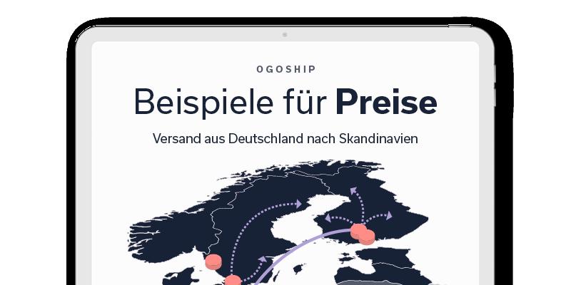 OGOship Produkte in den nordischen Ländern verkaufen
