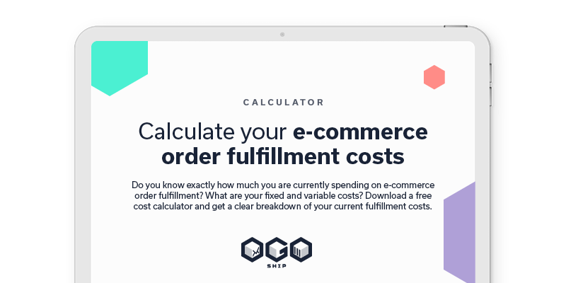 Calculate your e-commerce order fulfillment costs