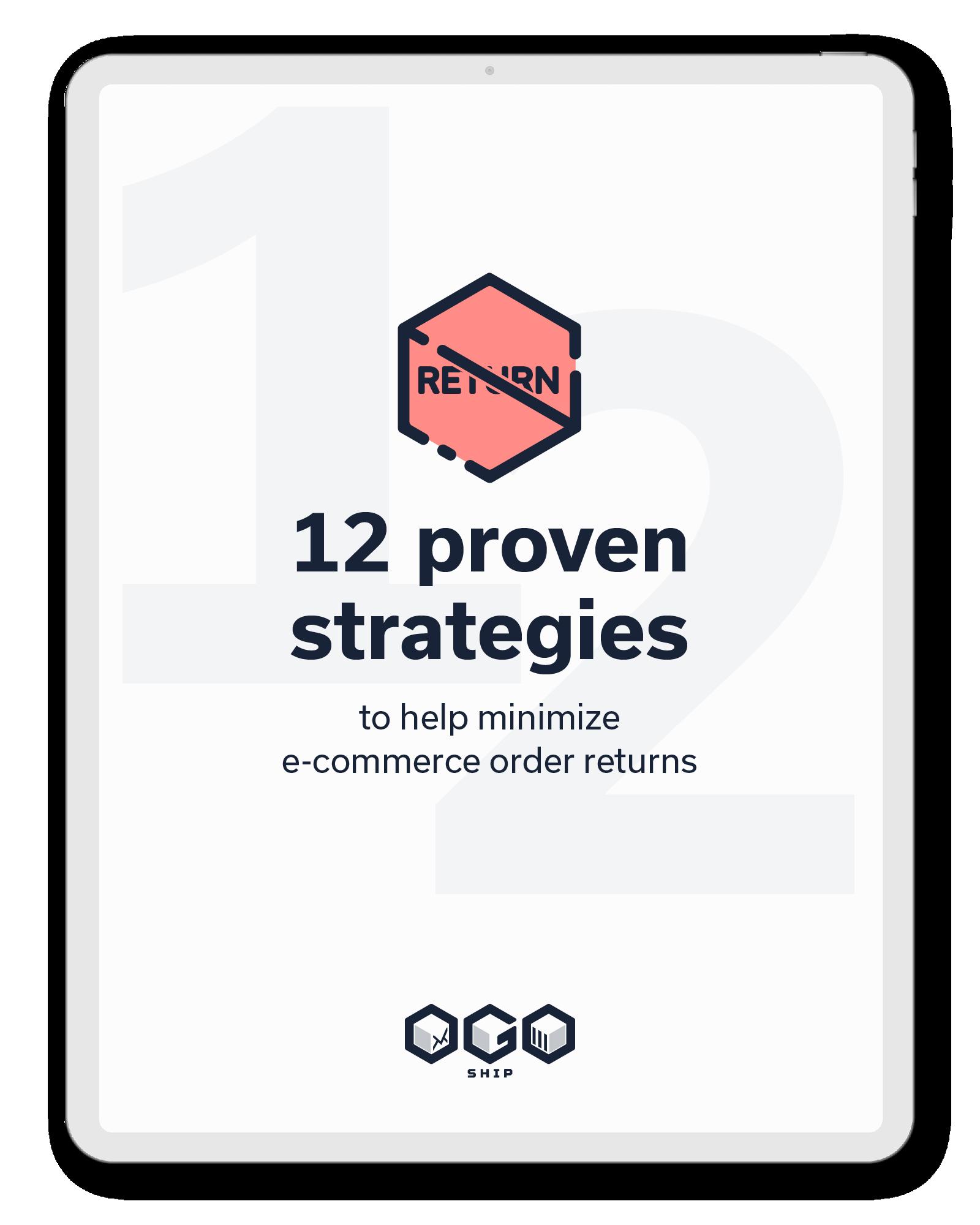 12 beprövade strategier för att minimera returer