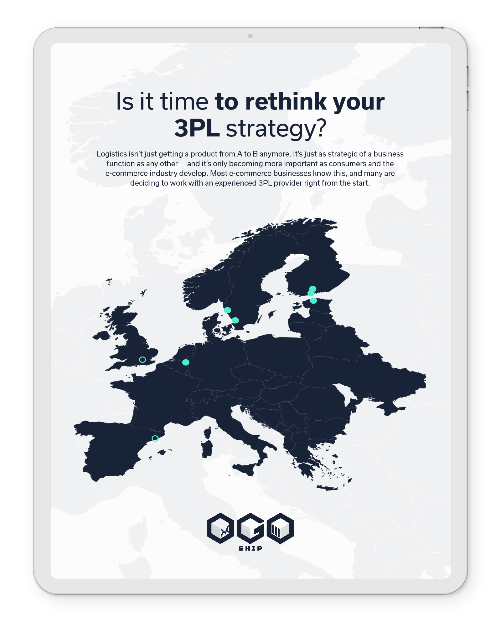 Is it time to rethink your 3PL strategy?